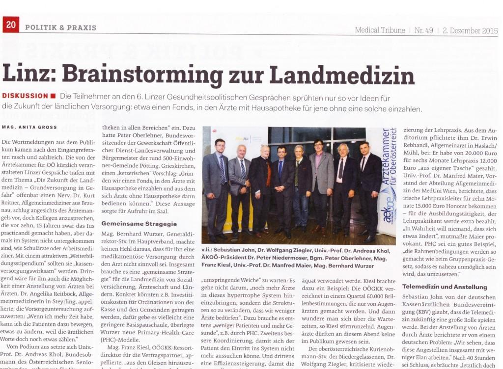 äkoö_2015_Brainstorming zur Landmedizin