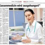 Kurier_2020_Die Kassenmedizin wird ausgehungert